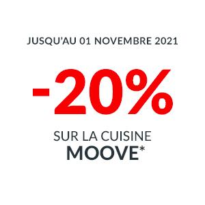 -20% sur la Cuisine Moove