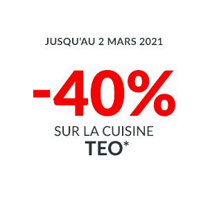 -40% sur la Cuisine TEO